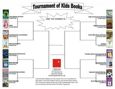 Lawrence Public Library's First-Ever Tournament of Kids Books!
