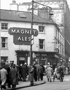 Elephant Inn pub on the corner of Fitzalan Square and Norfolk Street in Sheffield City Centre. Does anyone have any more photos of this Sheffield pub Sheffield Pubs, Sheffield Steel, Sheffield England, Nottingham Pubs, Sources Of Iron, Old Pub, Pub Signs, South Yorkshire, Pub Crawl