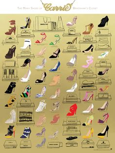 the most famous of Carrie Bradshaw's shoes