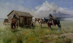 Survival On the Plains by Carl Hantman kp