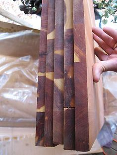 """Vintage AROMATIC RED CEDAR LUMBER, Panels BOARDS 5 ea 5/8"""" x 18"""" x 60"""" new old on eBay!"""
