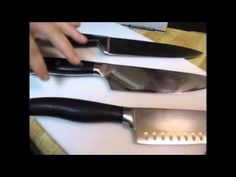 1000 images about kitchen knives on pinterest santoku knives chef knives and paring knives. Black Bedroom Furniture Sets. Home Design Ideas