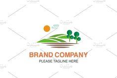 Scenery Logo by Friendesigns on @creativemarket