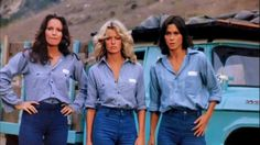 Once upon a time, there were 3 little girls who went to the police academy......Charlie's angels