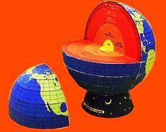 O Espaço da Geografia: Monte seu próprio Globo Terrestre
