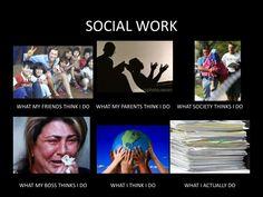 """Social Work""... what I actually do!"