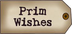 PRIMITIVE WISHES TAG