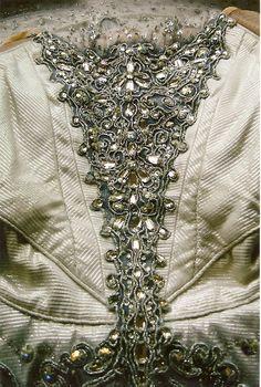 Bodice embellishment on tutu from English National Ballet.