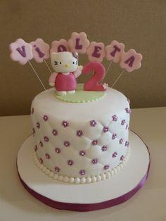 Bolo de Aniversário - Hello Kitty