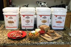 Whole grains never tasted so good! Give these 3 delicious Augason Farms a try! Emergency Preparedness Items, Rolled Oats, Recipe Using, Food Storage, Farms, Grains, Easy Meals, Favorite Recipes, Homesteads