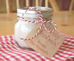 Our Family's FAVORITE Semi-Homemade Hot Chocolate Mix!  A great little gift for friends and neighbors.