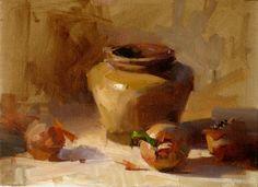 still life oil paintings onion | onions_and_jar_other_still_life__still_life ...