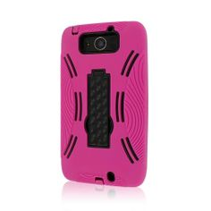 MPERO IMPACT XL Series Kickstand Case for Motorola DROID ULTRA / DROID MAXX XT1080 XT1080M - Hot Pink
