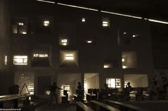 Le Corbusier's masterpiece: Ronchamp Chapel interior.