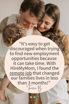You can read Tamlin's full success story on our blog! Would you like to learn how HireMyMom can help you find the remote job you've been looking for?! Check this out!