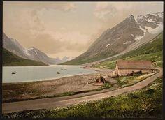[In Ulsfjorden (i.e., Ullsfjorden), Kjosen, Norway]      Repository: Library of Congress Prints and Photographs Division Washington, D.C. 20540 USA http://hdl.loc.gov/loc.pnp/pp.print