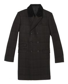 Dandy coat in Prince of Wales check - The Kooples