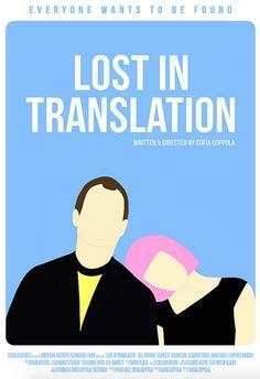 Lost in Translation (2003) ~ Alternative Movie Poster by Polar Designs #amusementphile