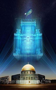 Rumah Ibadah Sulaiman; direncanakan dibangun diatas reruntuhan Mesjid Aqsa