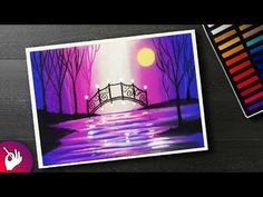 Hello everyone! In this video I will show you How to Draw Beautiful Sunset Scenery with Oil Pastels for beginner Step by Step. So hope you have fun with this...