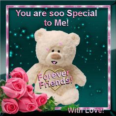 You are soo Special to me! Forever Friends With Love love quotes love gif friend quotes love pictures best love quotes friend gifs daily love quotes Hugs And Kisses Quotes, Hug Quotes, Snoopy Quotes, Qoutes, Friendship Thoughts, Best Friendship Quotes, Happy Friendship Day, Just Friends Quotes, Special Friend Quotes