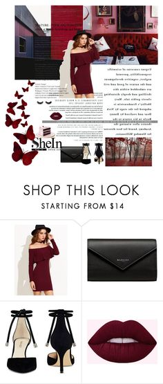 """Bez naslova #860"" by lifestyle-79 ❤ liked on Polyvore featuring Balenciaga and Nine West"