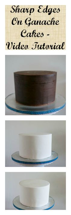 This is the most important of everything Cake Decorating!! Once you get this you will see that your cakes are so professional in look that no matter how simple the cake weather dressed as a blank canvas with one flower or with lots of gorgeous details it will take your work to a very different level.  It's all in the basics!