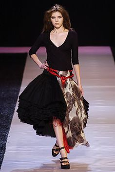 Emanuel Ungaro Spring 2005 Ready-to-Wear Collection