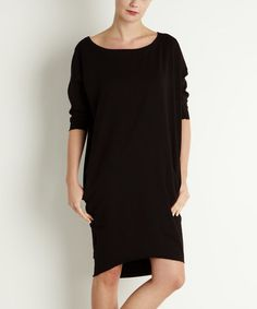 Black Alba Dress #zulily #zulilyfinds