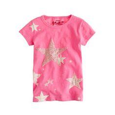 Girls' lucky star tee