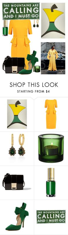 """It's All About Living Free-ly!!"" by ann-kelley14 ❤ liked on Polyvore featuring NOVICA, Raoul, LE VIAN, iittala, Versace, L'Oréal Paris, WithChic and Dot & Bo"