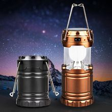 Ultra Bright Camping Lantern Solar Rechargeable LED Portable Light for Outdoor Recreation with USB Power Bank to Charge Phones Digital Guru Shop