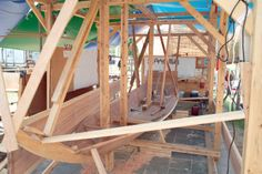 Traditional Japanese boatbuilding