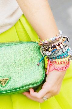 the very cute wrist of teen vogue editor Mary Kate Steinmiller