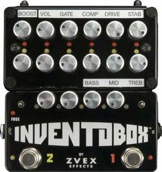 ZVex Inventobox Guitar Multi Effects Pedal