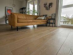 Deze europees eikenhouten vloer is gelegd in combinatie met