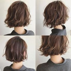 Messy Bob Hairstyles, Pretty Hairstyles, Messy Haircut, Wavy Bob Haircuts, Bob Haircut For Round Face, Haircut Bob, Haircut Short, Hairstyle Short, Style Hairstyle