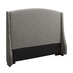 Dorel Asia Brooke Wingback Upholestered Padded Headboard with Nailheads, Full/Queen, Gray Dorel Asia http://www.amazon.com/dp/B00PGSXDOQ/ref=cm_sw_r_pi_dp_IhiJub19DGPP9