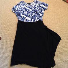 Black handkerchief skirt from Italy Very cute Cosabella Skirts Asymmetrical