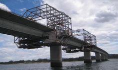 Rehabilitación de hormigón y reparación estructural del Puente de Vilagarcía de Arosa