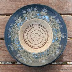 Heidi Hombsch: Mein Sonnentagebuch Bowls, Decorative Plates, Pottery, Clay, 3d, Tableware, Projects, Ceramic Art, Ideas