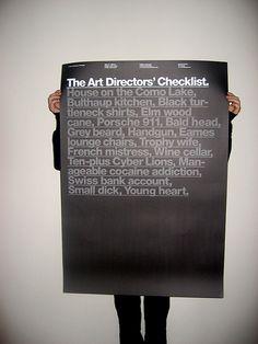 Art Director Checklist