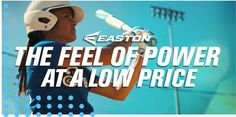 Feel the power of Easton fastpitch softball bats! You can check out a wide variety of models today at JustBats. We offer free shipping every day and we're with you from click to hit!