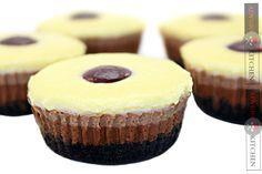Briose 3 ciocolate - Adygio Kitchen 3 chocolate muffins  #adygio #muffins