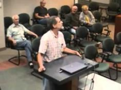 Minnesota concerned citizen speaks to county government leaders about refugee resettlement