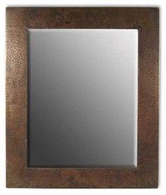 Native Trails Small Sedona Rectangle Mirror rustic-bathroom-mirrors