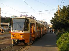Budapest Tram No.18 Train Light, Light Rail, Commercial Vehicle, Public Transport, Coaches, Buses, Budapest, Transportation, Around The Worlds