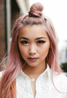 The hun is easily this season's hottest cool-girl hairstyle. These polished takes on the hip half bun hair trend only look difficult.
