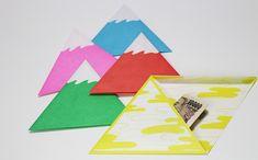 三角ふじさんぽち袋