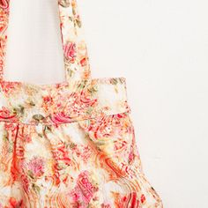 Bag with gathered pleats - a little sewing project